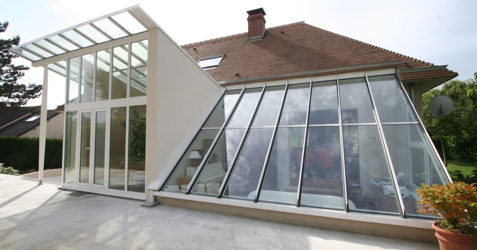 Véranda architecturale - Slider Komilfo