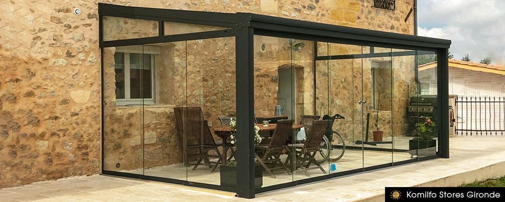 Toit de terrasse Pallazzo - Komilfo Stores Gironde