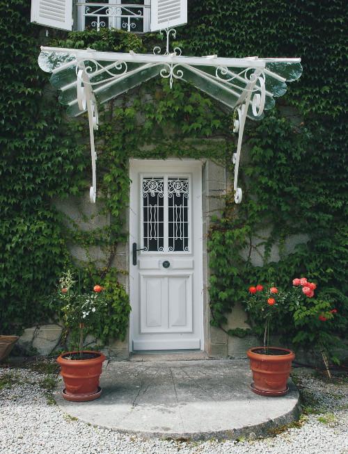 Portes d entr e bois sur mesure modernes design classiques komilfo - Porte entree bois sur mesure ...