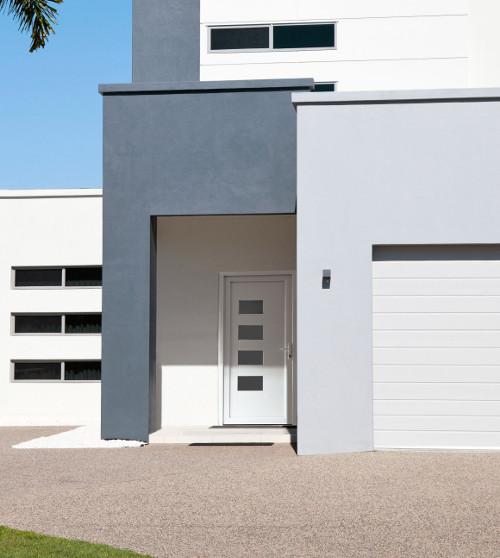 Portes Dentrée PVC Surmesure Modernes Design Traditionnelles - Porte d entrée en pvc
