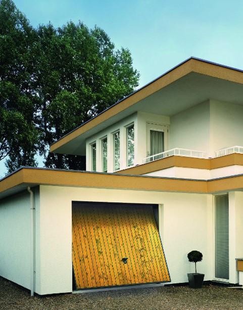 portes de garage basculantes sur mesure komilfo. Black Bedroom Furniture Sets. Home Design Ideas