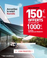 Profitez la promo spéciale printemps pour accueillir le soleil Komilfo !