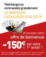 Recevez le nouveau catalogue Komilfo 2018/2019 et profitez d'une offre de bienvenue de 150€ !