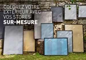 Colorez votre extérieur Komilfo avec vos toiles de store banne coffre sur-mesure