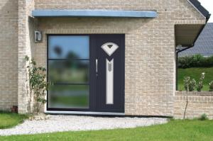 Rénovation d'habitat et installation d'une porte d'entrée à Evreux (Eure) par L'Eker Normanville