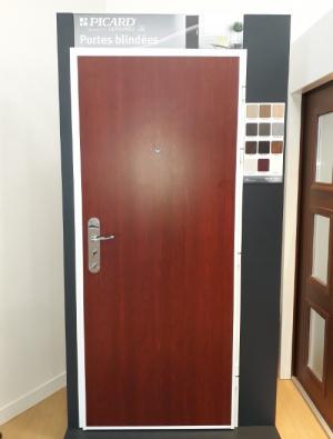 Notre nouvelle porte blindée à voir dans notre hall d'expo à Rennes Chantepie !