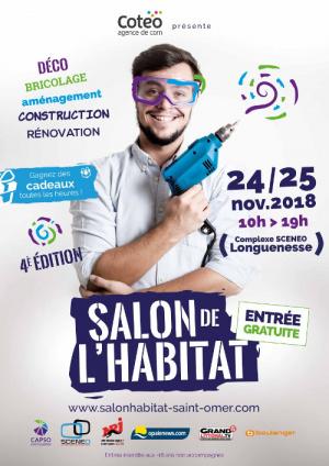 Komilfo NovaStyle au Salon de l'habitat de Saint-Omer 2018 (Pas-de-Calais)