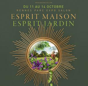 Komilfo Open présent au salon Esprit Maison Esprit Jardin à Rennes