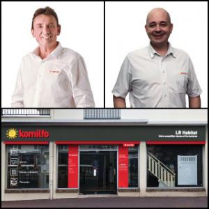 Présentation de nos nouveaux magasins Komilfo en 2018