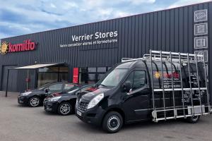Magasin Verrier Stores et Fenêtres à Tours (37) - Komilfo