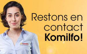 Restons en contact Komilfo