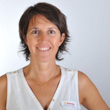 Clédia Nys, directrice du magasin Chablais Stores Fermetures - Komilfo