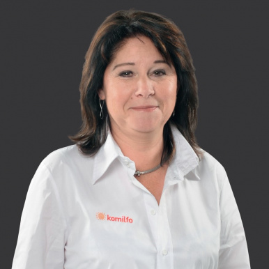 Marie Djelloul, conseillère Komilfo à Foix - Alumi'9 en Ariège