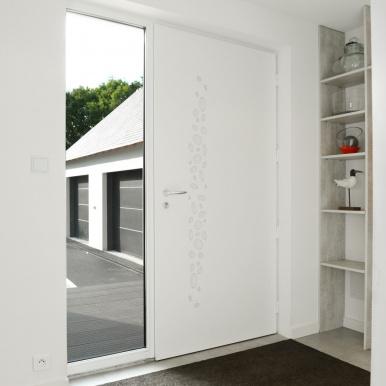 Porte d'entrée design côté intérieur - Komilfo
