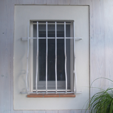 Store moustiquaire fixe pour fenêtre - Komilfo