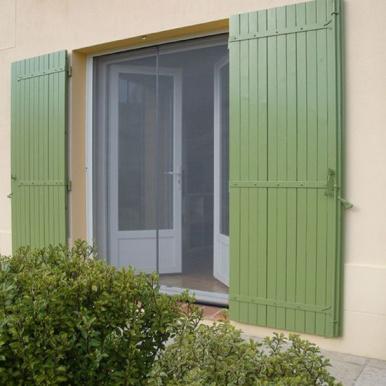 Store moustiquaire enroulable pour porte - Komilfo