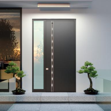 Porte d'entrée design sur-mesure - Komilfo