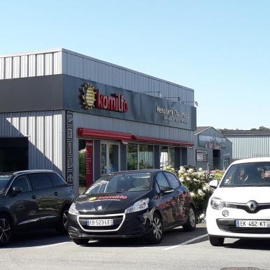 Menuiserie Chalumeau à Alençon (Orne), magasin adhérent au réseau Komilfo