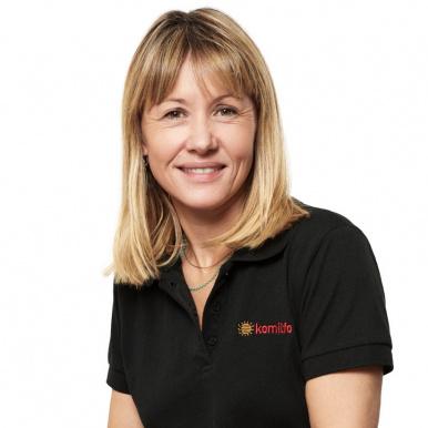 Stéphanie Martinet, conseillère membre Komilfo - Stores et Fermetures Provençales à Aix (13) et Manosque (04)