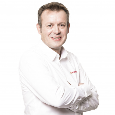 Jessy Colas, directeur du magasin Sparna'Baie à Épernay - Komilfo