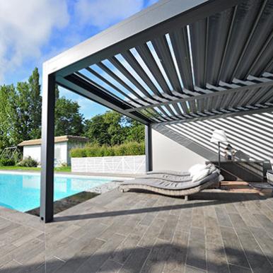 Pergola piscine B200 Brustor