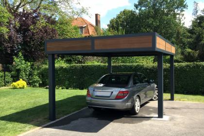 Abri de voiture ou carport isolé - Komilfo