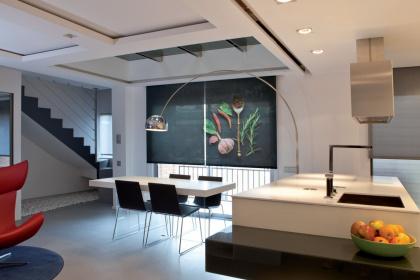 Store intérieur enrouleur avec impression personnalisée - Komilfo