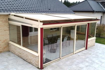 Store de toiture de véranda réalisé à LESTREM