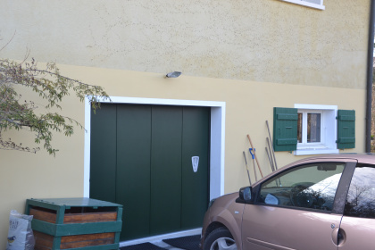 porte de garage sectionnelle laterale automatique thonon chablais