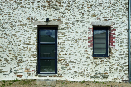 Fenêtre et porte PVC anthracites