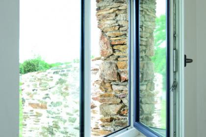 Fenêtre PVC bicolore