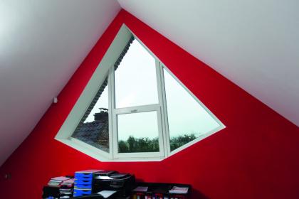 Fenêtre PVC originale