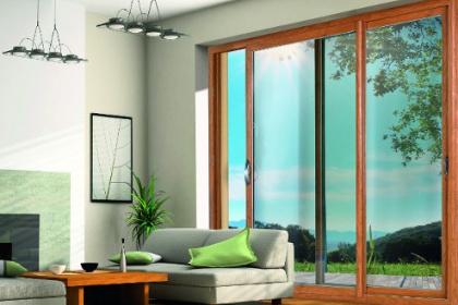 Baie vitrée coulissante PVC
