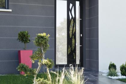 Porte d'entrée design pour un accueil de vos invités avec style - Komilfo