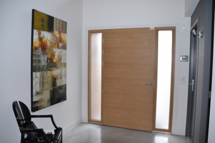 porte d'entrée belm mixte aluminium bois thonon