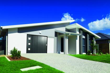 Porte de garage latérale design Gypass