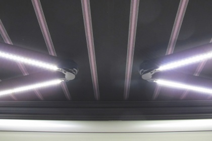 Bras lumineux LED store coffre Soliso