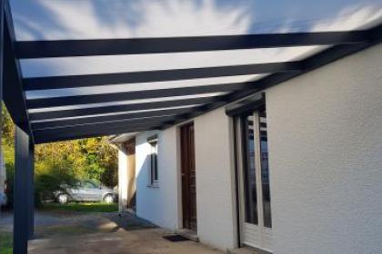 Pergola toit terrasse à Veyrac (87)