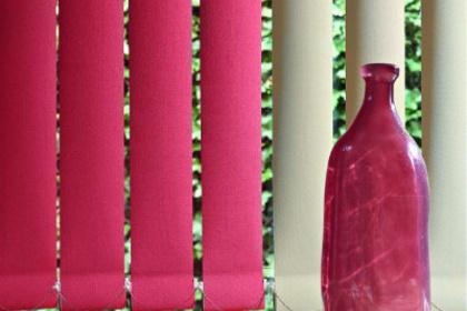Store à bandes verticales couleur