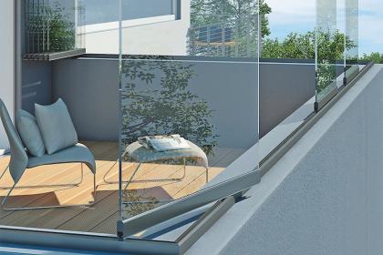 Paroi vitrée balcon Weinor