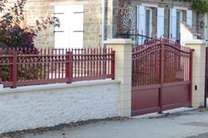 Portails et clôtures classiques Komilfo