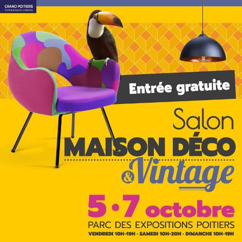 RDV au Salon Maison Déco et Vintage de Poitiers pour rencontrer Komilfo Huguet Thibault !
