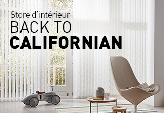 Komilfo, expert en pose de stores californiens et stores d'intérieur