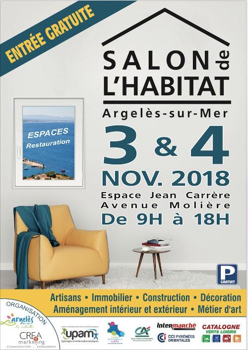 Retrouvez Komilfo au Salon de l'Habitat d'Argelès (66) !