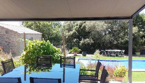 Projet de pergola en toile dans l'Hérault près de Montpellier par Alu MD Delagrange