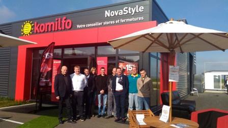 Photo d'équipe Novastyle, parasol et protection solaire à Leulinghem St Omer