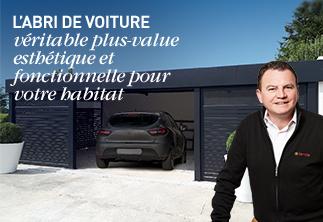 Carport aluminium installé par NovaStyle - Komilfo Saint-Omer
