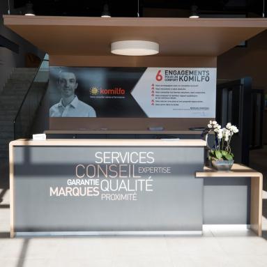 Le concept magasin pour une expérience client unique - Komilfo