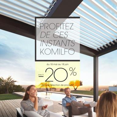 Support pour une opération communication et marketing - Komilfo
