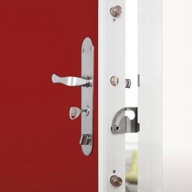 La porte blindée pour protéger votre maison Komilfo